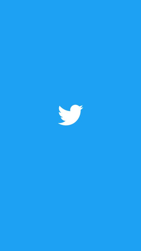 twitterスプラッシュ画面