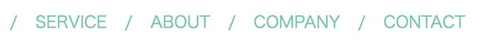 CSSでリストに区切り線をつける