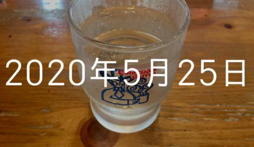 【2020年5月25日の日記】理想のライフスタイルは早寝(夜21時)早起き(朝5時)!?