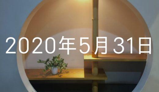 【2020年5月31日の日記】人生史上最も温泉を満喫した日(頭痛付き)