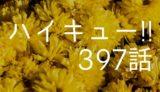ハイキュー ネタバレ感想 最新397話【日向、星海のスパイクをドシャる!】