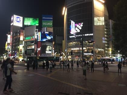 コロナの影響で閑散としている渋谷