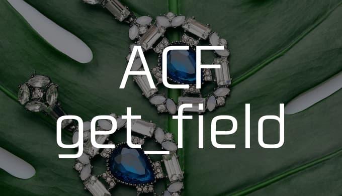 【Advanced Custom Fields】get_fieldで条件分岐する方法