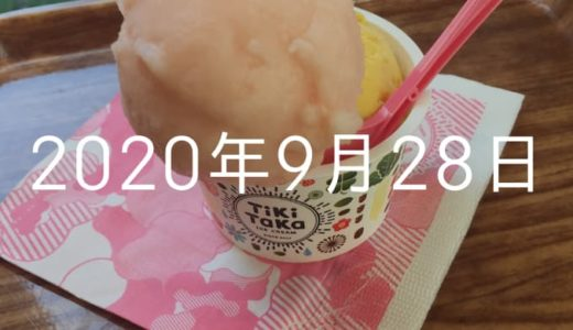 妹の誕生日にスタバチケットあげた【2020年9月28日の日記】