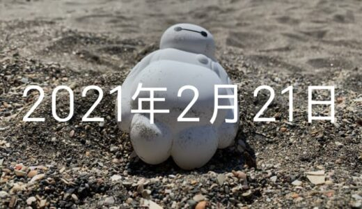 KNGsのビーチクリーンイベントへ参戦!撮れ高MAX【2021年2月21日の日記】