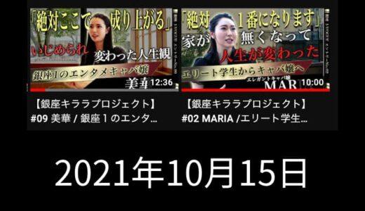 美華さんMARIAさんの密着動画で元気もらった!【2021年10月15日の日記】